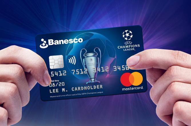 Tarjeta UEFA Mastercard Banesco